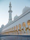 Grand Sheikh Zayed Mosque at sunset, Abu Dhabi, UAE Stock Photography