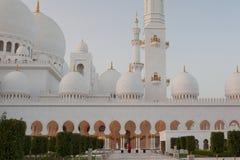 Grand Sheikh Zayed Mosque at sunset, Abu Dhabi, UAE Stock Image