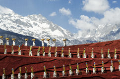 The grand show in LIJIANG stock photos
