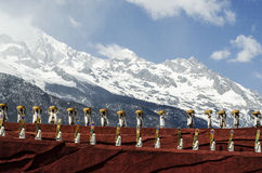 The grand show in LIJIANG Stock Images