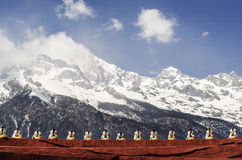 The grand show in LIJIANG Royalty Free Stock Photography