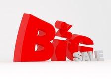 Grand signe de vente Image stock