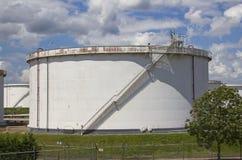 Grand silo de pétrole Image libre de droits