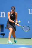 Grand Slam Champion Ana Ivanovic from Serbia during US Open 2014 first round match Royalty Free Stock Photo