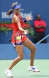 Grand Slam champion Ana Ivanovich during third round match at US Open 2013 against Christina McHale Stock Photo