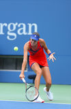 Grand Slam champion Ana Ivanovich during third round match at US Open 2013 against Christina McHale Stock Image