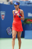 Grand Slam champion Ana Ivanovich during third round match at US Open 2013 against Christina McHale Stock Photography