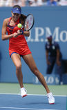 Grand Slam champion Ana Ivanovich during third round match at US Open 2013 against Christina McHale Stock Images