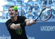 Grand Slam Champion Andy Murray of Great Britain practices for US Open 2016 Stock Image
