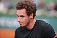 Grand Slam champion Andy Murray after his second round match at Roland Garros 2015 Stock Images
