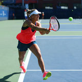 Grand Slam champion Angelique Kerber of Germany  practices for US Open 2016 Royalty Free Stock Images