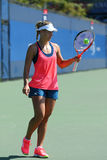 Grand Slam champion Angelique Kerber of Germany  practices for US Open 2016 Royalty Free Stock Photos