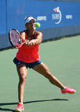 Grand Slam champion Angelique Kerber of Germany  practices for US Open 2016 Stock Images