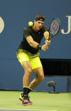 Grand Slam champion Juan Martin Del Porto of Argentina in action during his US Open 2016 Stock Photography