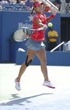 Grand Slam champion Na Li during quarterfinal match at US Open 2013 against Ekaterina Makarova Royalty Free Stock Photo