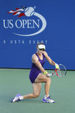 Grand Slam Champion Samantha Stosur during US Open 2014 second round match against  Kaia Kanepi. NEW YORK - AUGUST 26: Michael Jordan attends first round match Royalty Free Stock Photography