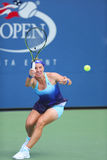 Grand Slam Champion Svetlana Kuznetsova from Russia during US Open 2014 first round match Stock Photography