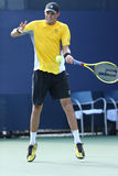 Grand Slam champions Bob Bryan during first round doubles match at US Open 2013 Royalty Free Stock Image