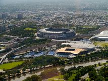 Grand slam in Melbourne park Royalty Free Stock Photos