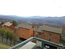 Grand Smokey Mountains Gatlinburg TN photographie stock libre de droits