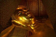Grand sommeil Bouddha Images libres de droits