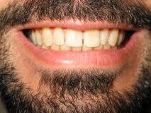 Grand sourire Image libre de droits