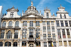 The grand'space in brussels (Belgium) Royalty Free Stock Photo
