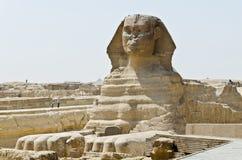 Grand sphinx de Gizeh image libre de droits