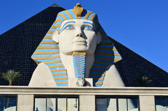 Grand sphinx de plan rapproché de Gizeh Photos stock