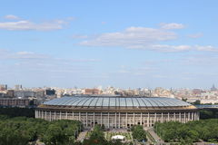 Grand sports arena. In Moscow in the Luzhniki sports complex Stock Photo