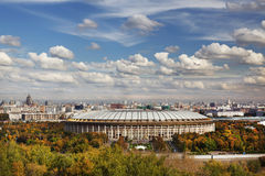 Grand Sports Arena  Luzhniki in Moscow, Russia. Royalty Free Stock Photo