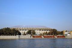 Grand Sports Arena Luzhniki in Moscow Stock Photo