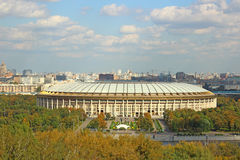 Grand Sports Arena in Moscow. In the Luzhniki sports complex Stock Images