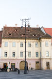 Grand Square in Sibiu Royalty Free Stock Images
