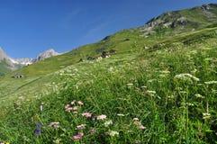 Grand St. Bernard region, Italian Alps, Aosta Valley. Royalty Free Stock Image