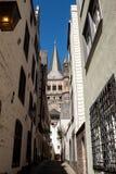 Grand St Martin Cologne Photographie stock libre de droits
