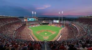 Grand stade de base-ball américain à Cincinnati photo libre de droits