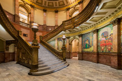 Grand Staircase in Colorado Capitol Royalty Free Stock Image