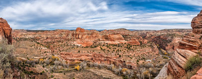 Grand Staircase Escalante National Monument with the river, Utah Royalty Free Stock Photos