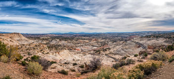 Grand Staircase Escalante National Monument with the river, Utah Royalty Free Stock Photo