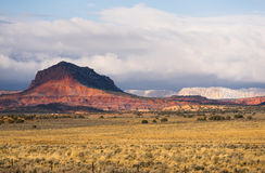 Grand Staircase-Escalante Southern Utah Rolling Clouds Canyons Stock Image