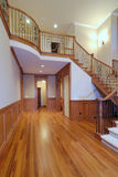 Grand Staircase II. Grand Staircase in a luxury american home Stock Photography