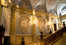 Grand staircase - Isola Bella, Lago Maggiore, Italy Royalty Free Stock Images