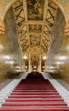 Grand staircase Parliament Stock Photos