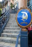 Grand staircase to Disneyland Dream Suite in Anaheim, California Royalty Free Stock Photography