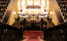 Grand Stairway in Hotel Royalty Free Stock Image