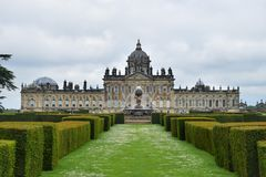 Grand Stately Home. Castle Howard, stately home near York Stock Photo