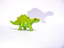 Grand stegosaurus vert de jouet Photographie stock
