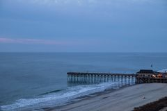 Grand Strand Coastline Royalty Free Stock Photo