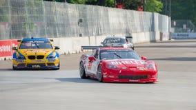 GRAND-SUIS les séries de voiture de sport de Rolex, Detroit, MI photo stock